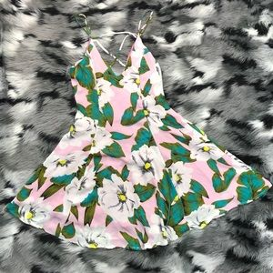 Lucca Couture Sweet Summer Dress Tropical Chic